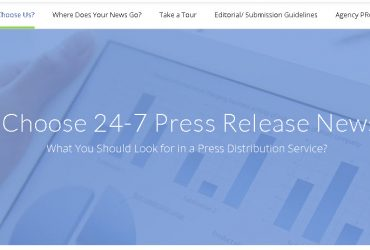 24-7PressRelease.com is a leader in the online press release distribution