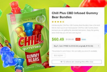 Chill Plus CBD Gummy Bears