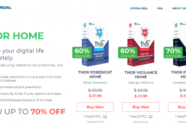 Thor AntiVirus (Heimdal Security – Worldwide) Up to 70% Off