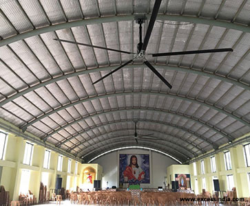 Commercial HVLS Fans Suppliers in Coimbatore – Excess India