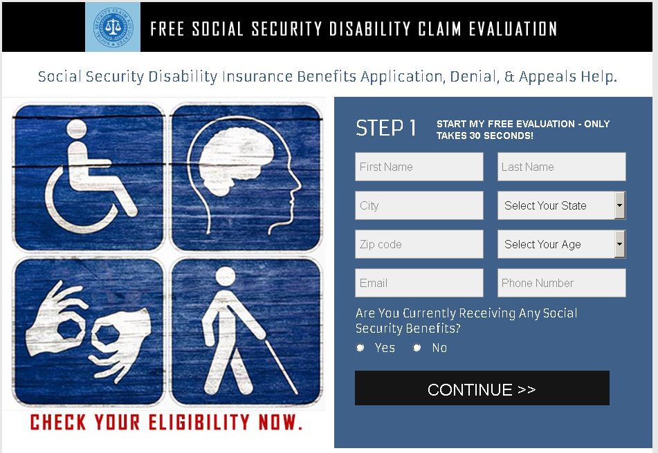 Free Social Security Disability Claim Evaluation!!